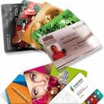 Impresión de tarjetas personalizadas PVC