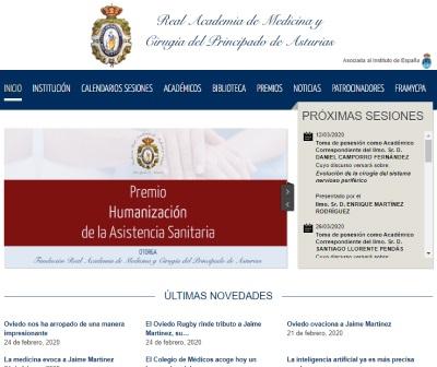 RAMPRA: Real Academia de Medicina del Principado de Asturias